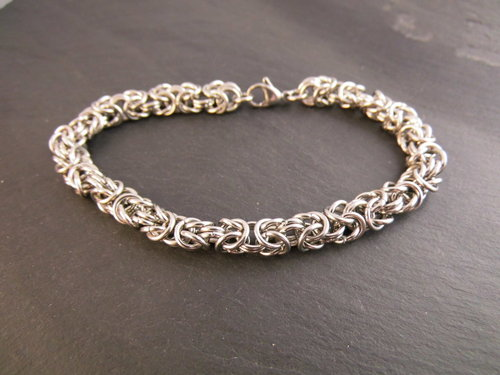 Chainmail Edelstahl Armband SANDY