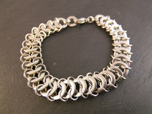 Chainmaille Edelstahl Armband DANI